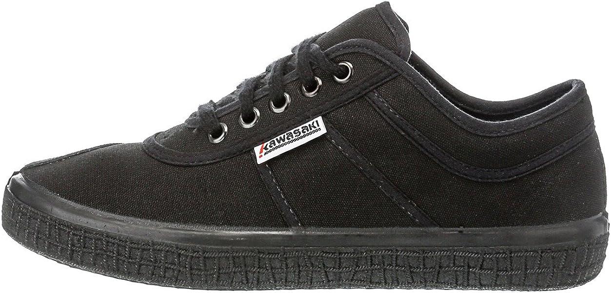 79042665cae Kawasaki Unisex Sneaker Basic Canvas All Black  Amazon.de  Schuhe ...