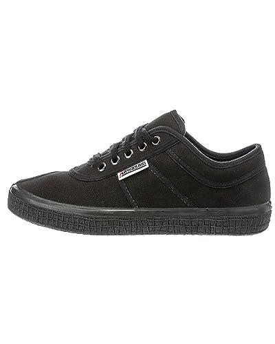 8748eb683ca Kawasaki Unisex Sneaker Basic Canvas All Black 37  Amazon.fr ...
