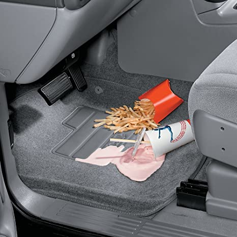 Lund 624234 Catch-All Premium Charcoal Carpet 2nd Seat Floor Mat