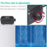 Aquarium Air Pump with Accessories Kit Air Valve