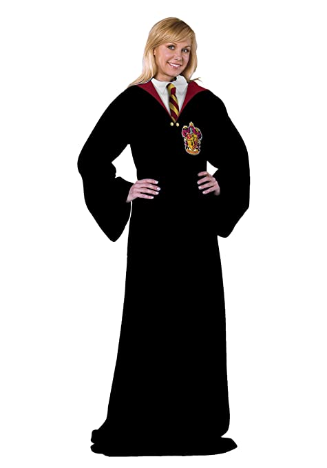 Amazon.com: Harry Potter Hogwarts traje adulto Snuggie: Home ...