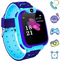 Kids Phone Smartwatch with Games & MP3 Player - 1.54 inch Touch Screen Watch Phone 2 Way…