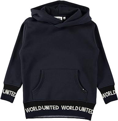 Molo Boys United Navy Fleece Hoodie Size 8