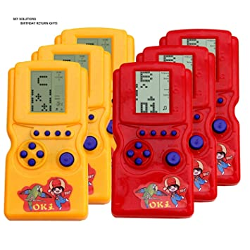 Buy Sky Solutions Handy Batter Operated Video Game For Return Gift PurposeBirthday Gifts Kids Pack Of 2 Online At Low Prices In India