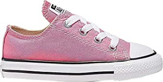 Converse 7J238 Kids Toddler Chuck Taylor All Star Low Pink