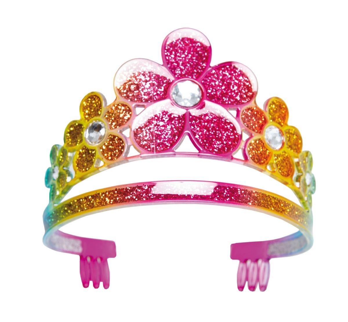Blumendiadem bunt Diadem Blume Prinzessinenkrone Prinzessin