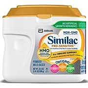Similac Pro-Sensitive Non-GMO Infant Formula with Iron, with 2'-FL HMO, For Immune Support, Baby Formula, Powder, 22.5 ounces (Single Tub)