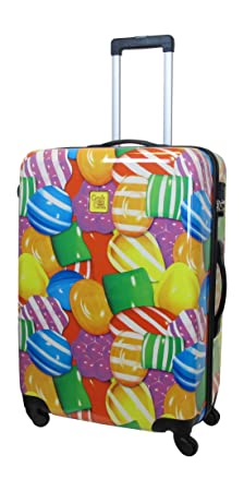 Candy Crush Cabin Bag Close Up Candy Large, Multi-Colored, One Size