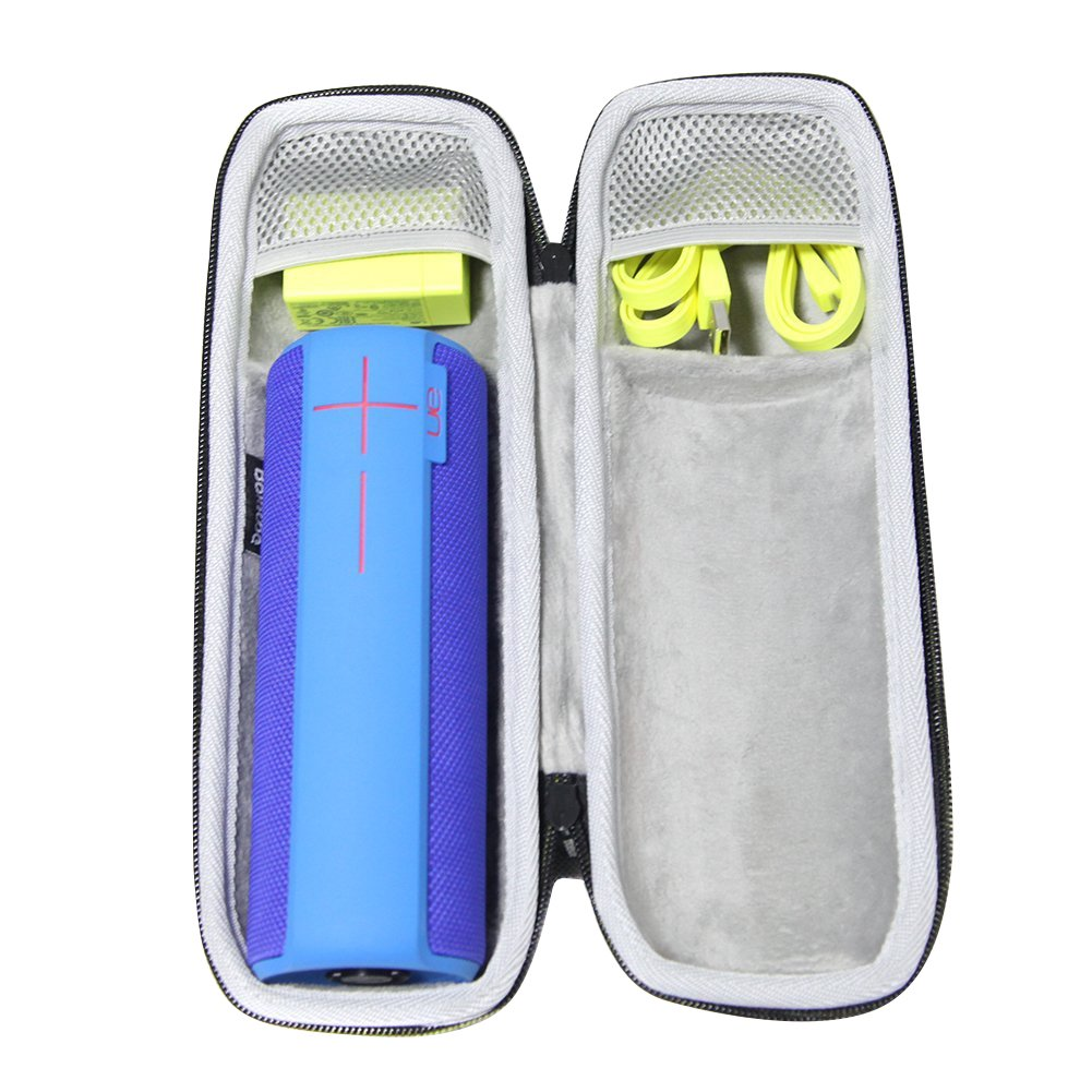 Balese Hard Case Travel for UE BOOM 2 Bluetooth Speaker.Fits USB Cable and accessories.
