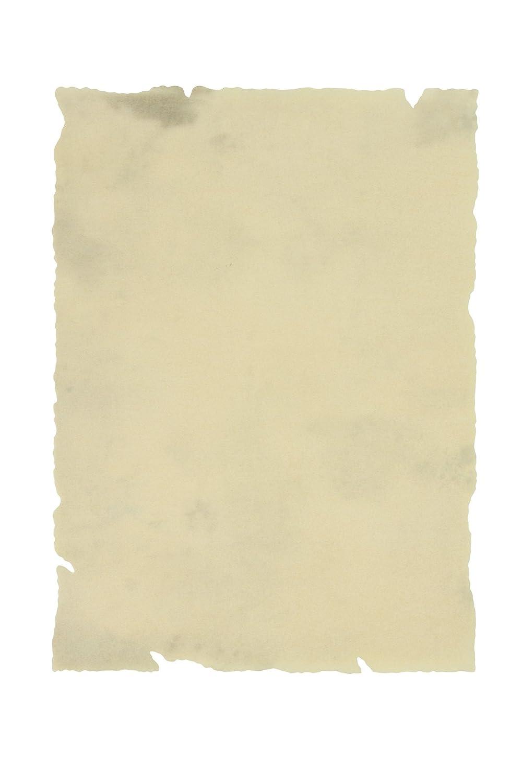 edima 100045-b–PERGAMENA A4, carta Papiro con bordi, 25pezzi Ediciones Edima