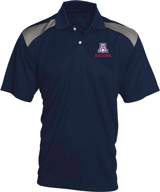 Old Varsity Brand NCAA Mens Pieced Panel Polo Shirt