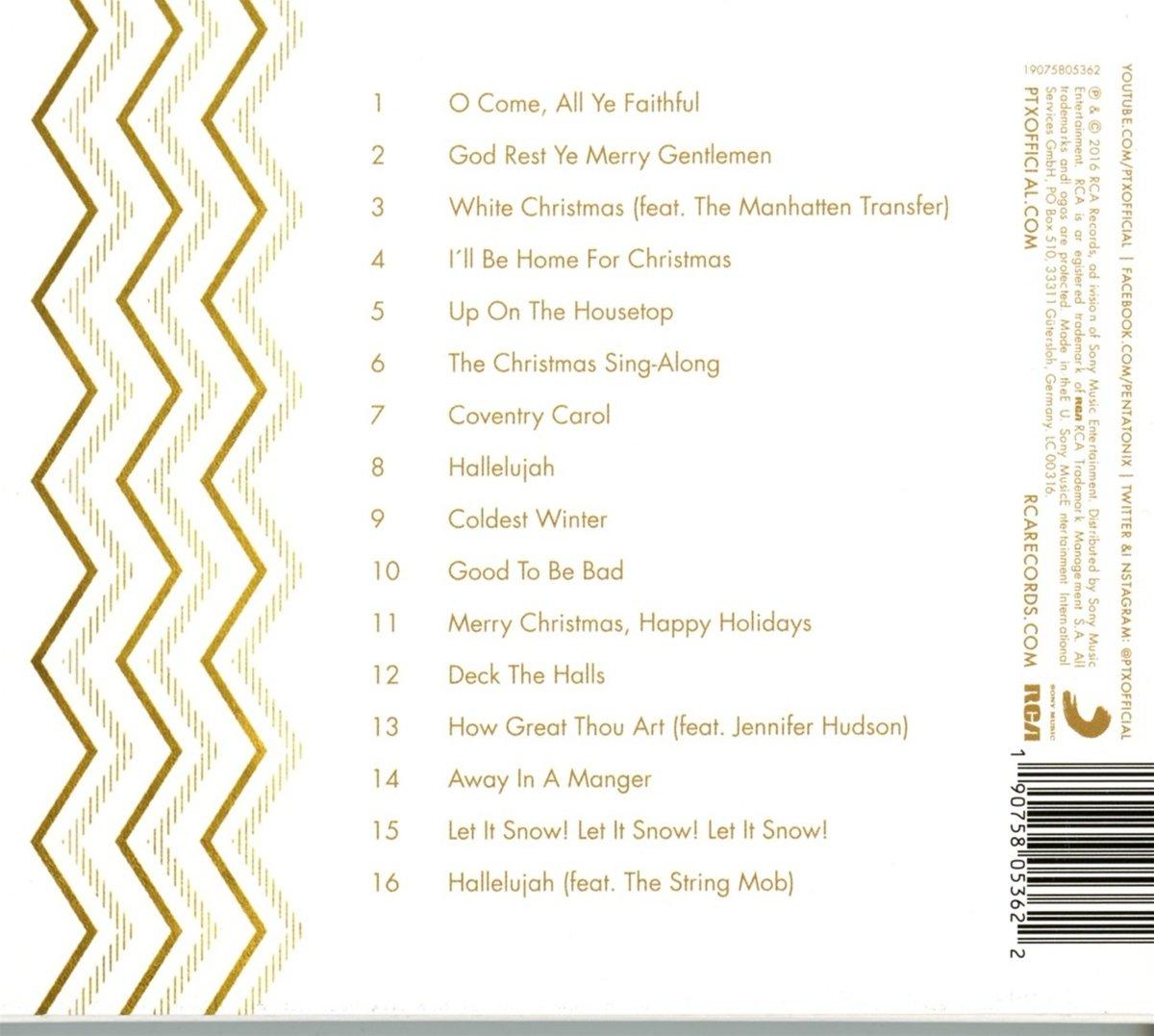 Pentatonix - Pentatonix Christmas Deluxe - Amazon.com Music