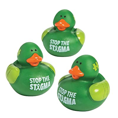 Mental Health Awareness Rubber Duckies: Health & Personal Care