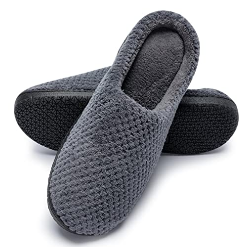 7f9a3c32ed79 Gridding Coral Fleece Slippers