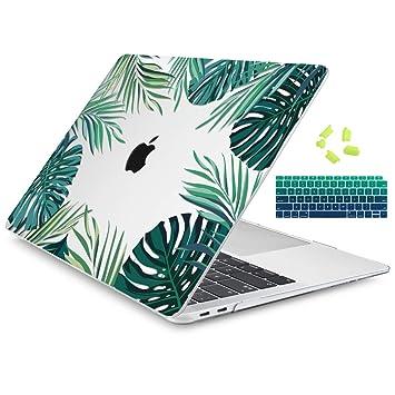 Amazon.com: Dongke - Carcasa rígida para MacBook Air de 13 ...