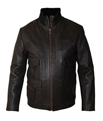 Homme Royale Mock Collar Leatherly Veste High Craig Casino Daniel WEHYI29D