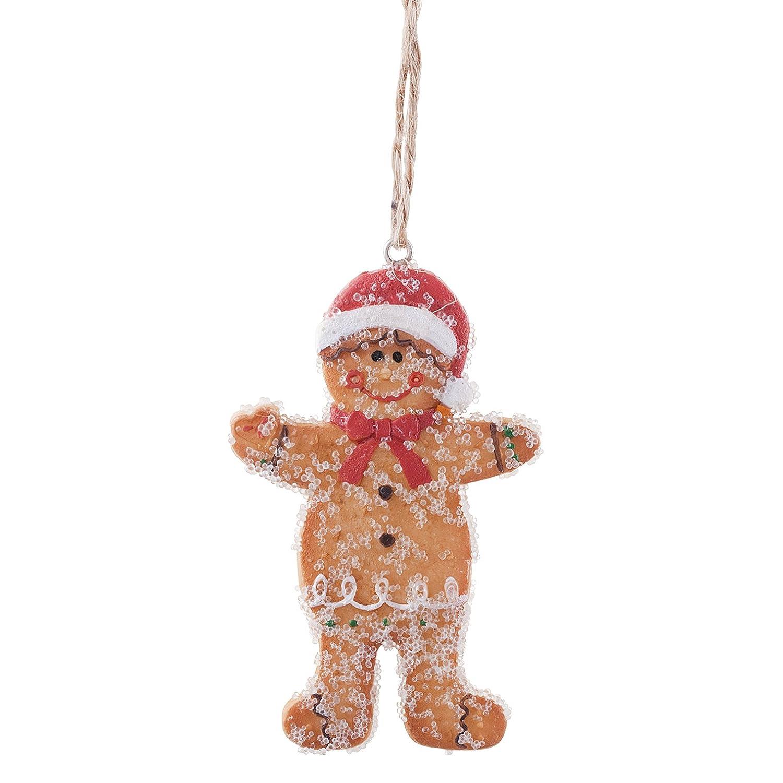 Mr and mrs christmas tree decoration - Mr Mrs Gingerbread Man Hanging Christmas Tree Decoration Pair Amazon Co Uk Kitchen Home