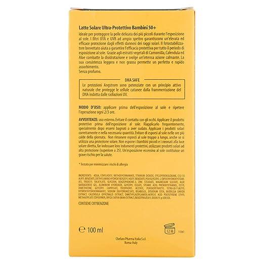 Amazon.com: Lait Soleil Pour Bébé Ultra Protettivo Ed Idratante Sfp 50+ 100 Ml: Health & Personal Care