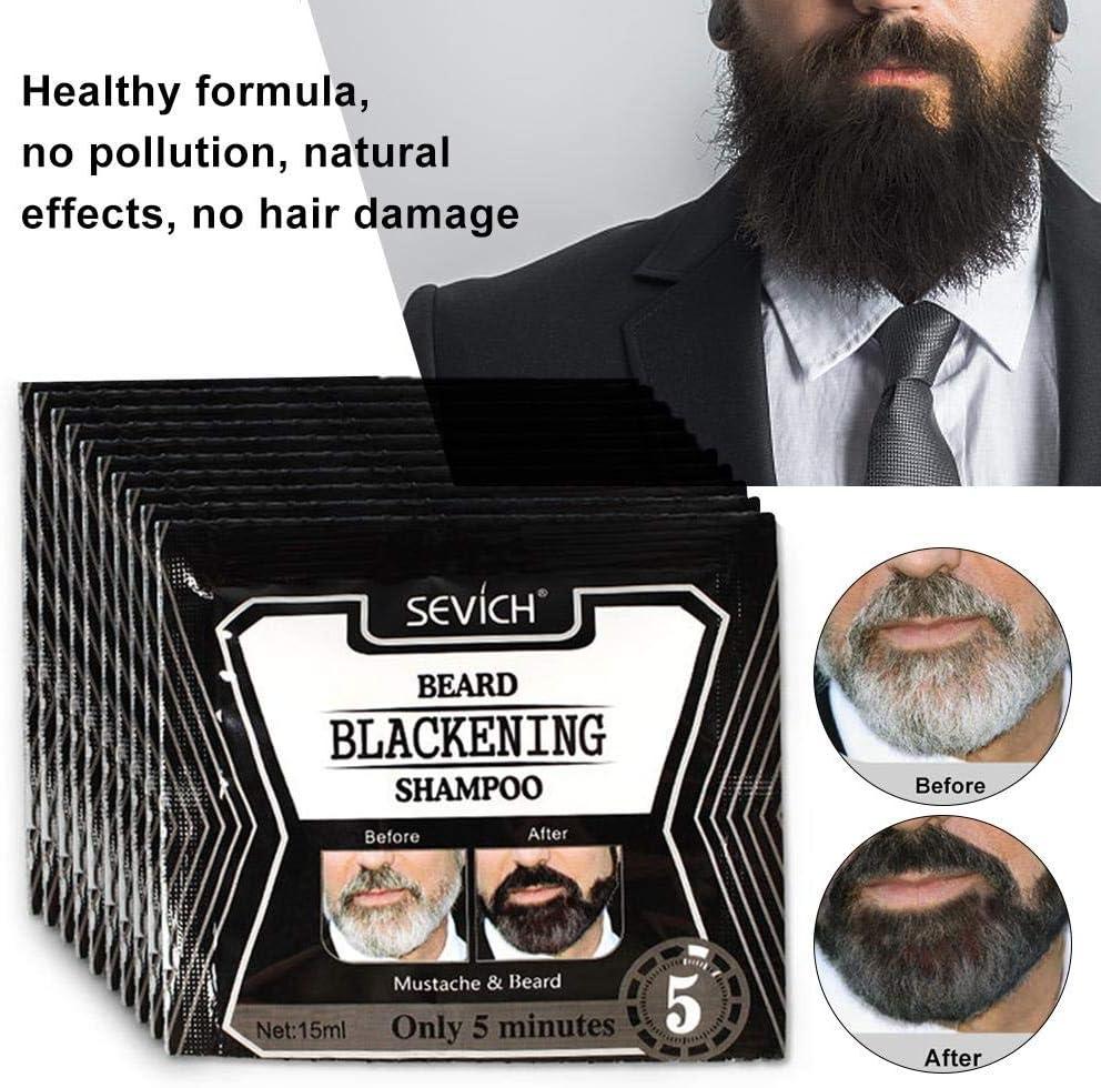 Beard Champú de gasolina de lactancia para champú líquido ...