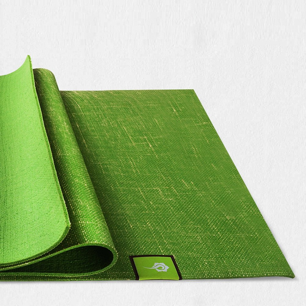 YJD Natürliche Leinen Gummi Farbe Anti-Rutsch-Yoga-Matte Fitness-Matte, Farbe Gummi Optional fa3ab9
