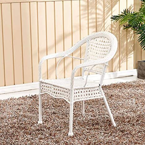 Amazon.com: YQQ-Lazy Sofa Outdoor Chair Hand-Woven Wicker ...