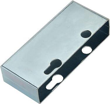 Caja de cerradura para empotrar en marco de puerta de 40 mm.: Amazon.es: Bricolaje y herramientas
