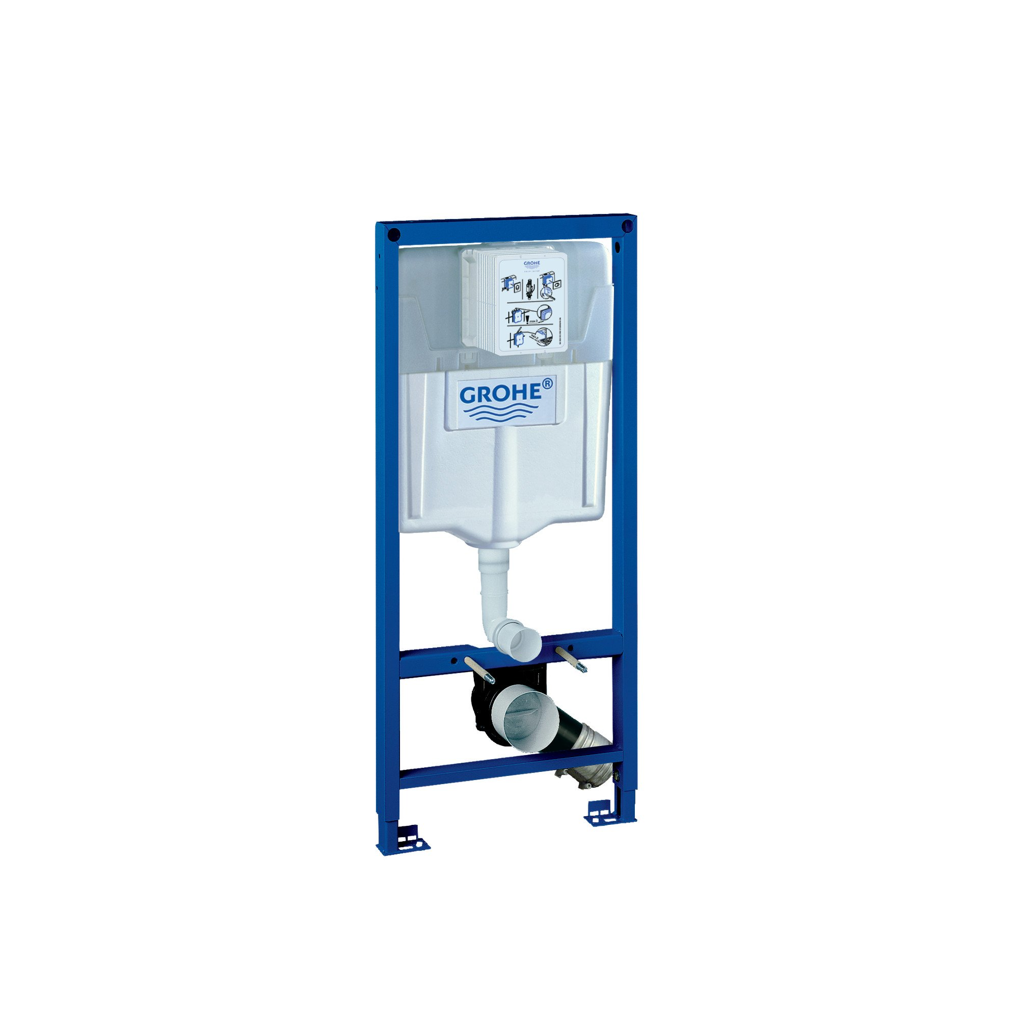 Rapid Sl Toilet For 2X6 Wall Installation