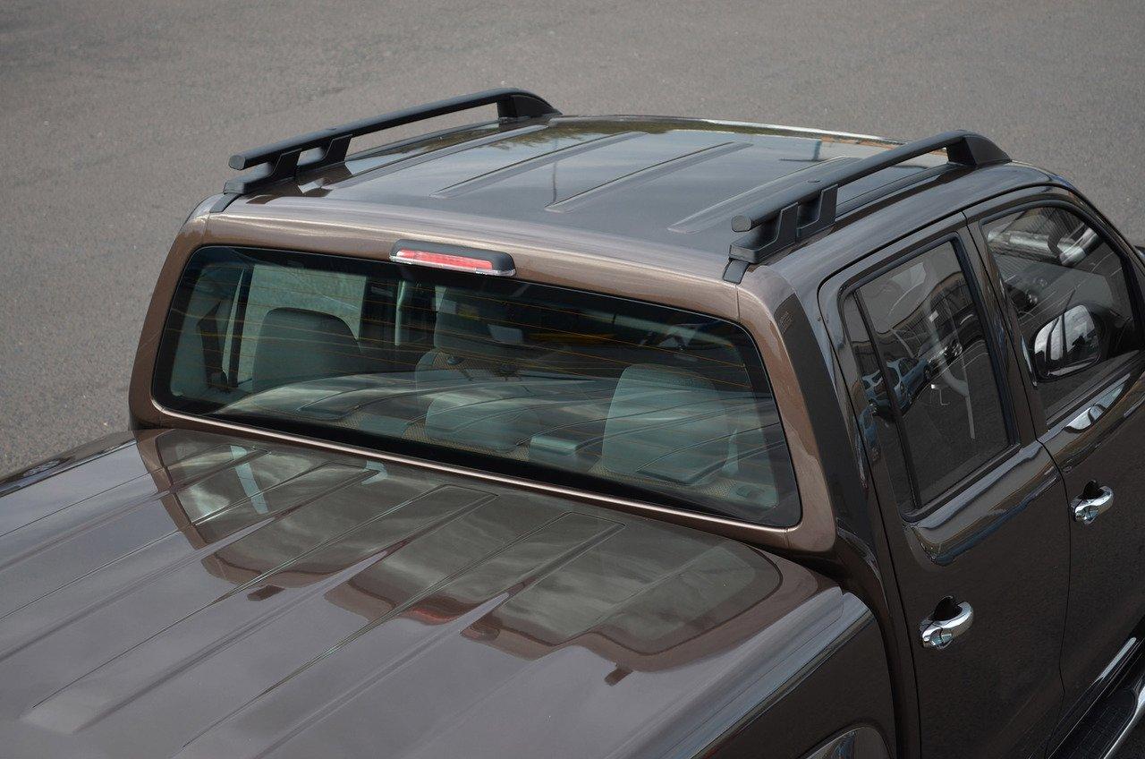 2010/+ Alvm ricambi e accessori in alluminio nero portapacchi barre laterali set to fit Amarok