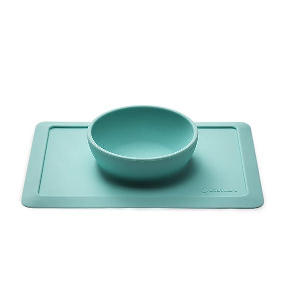 Cuisiner silicona base de mesa con cuenco para bebés/niños pequeños, antideslizante Juego de mesa con agarre a fijo IKEA ANTILOP & tradicionales de Tronas.