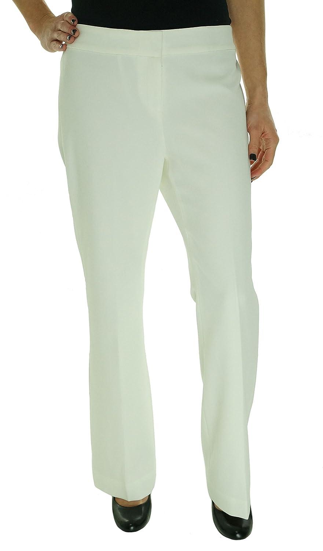 Anne Klein Women's Modern Pant Ivory 4P