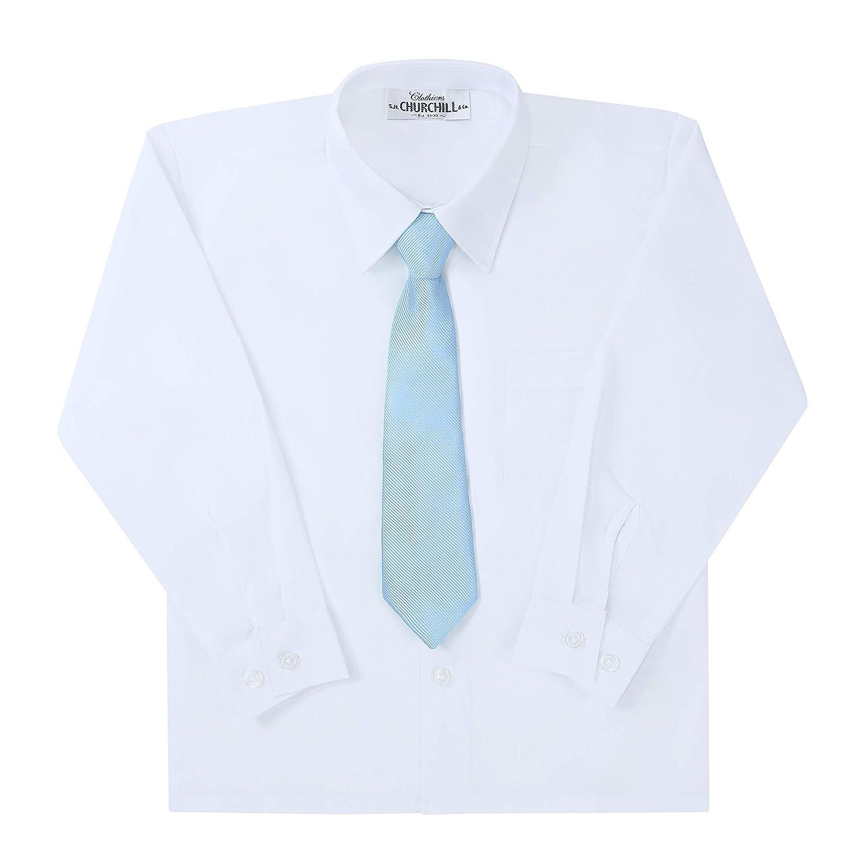 School Uniforms Wedding Zipper Pre-Tied Woven Kids Tie Neckties /& Pocket Square Ties For Boys