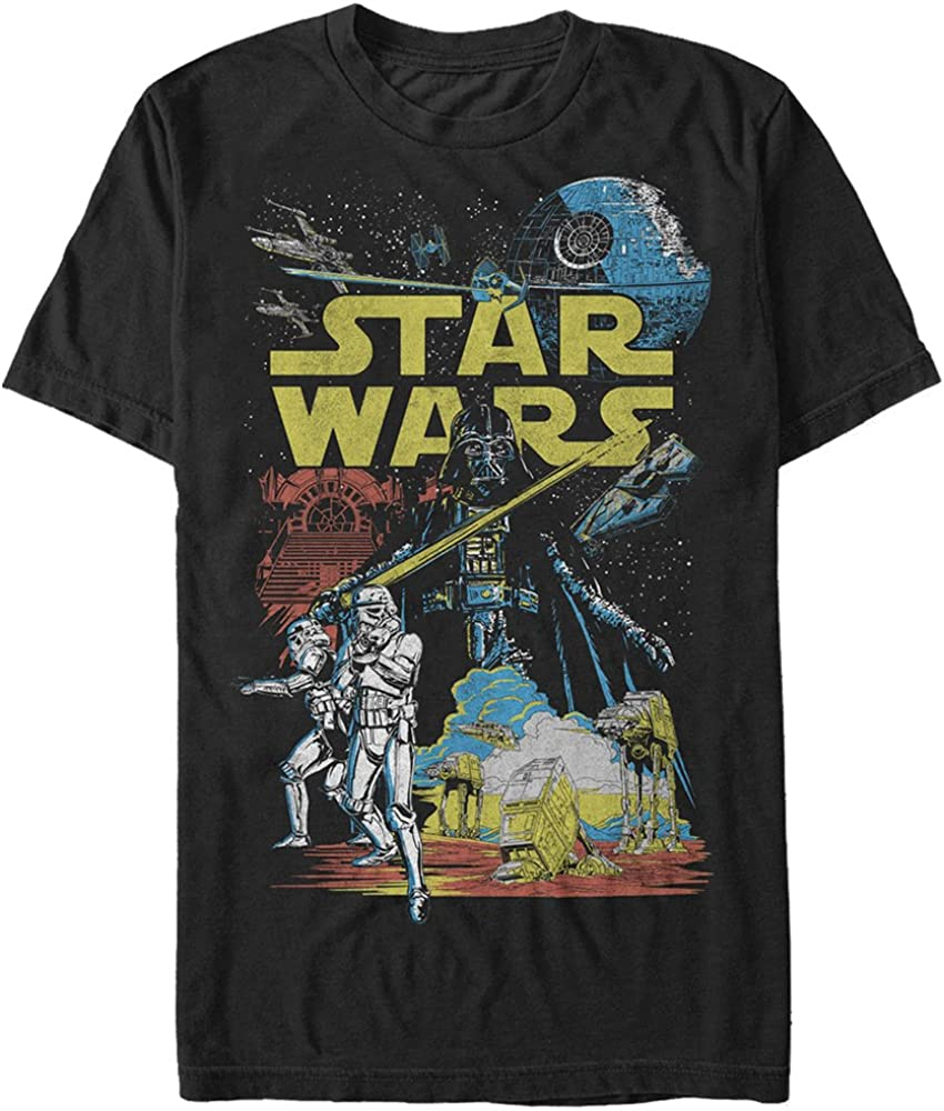 Star Wars Men's Rebel Classic Graphic T-Shirt |