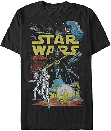 Star Wars Rebel Classic Graphic Camiseta para hombre: Amazon.es: Ropa y accesorios