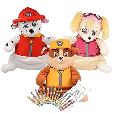 Coloriage Pat Patrouille Maternelle.Sac A Dos Paw Patrol Pat Patrouille Enfant Unisex Kit Set De