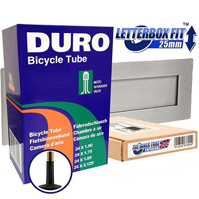 "2x DURO Bicycle Inner Tube 26/"" x 1.50// 1.75// 1.90 for MOUNTAIN MTB Bike"
