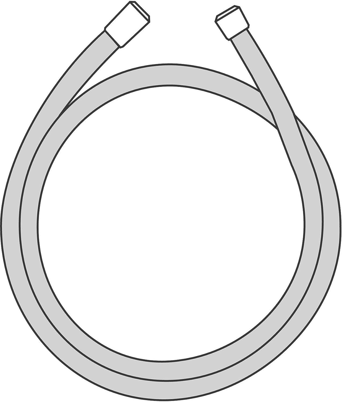 Hansgrohe 28248000/Flexible Isiflex 1,60/m avec volume Contr/ôle chrom/é