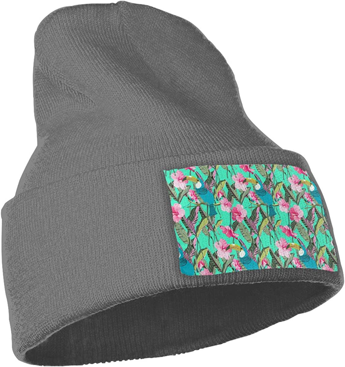 QZqDQ Flowers and Leaves Unisex Fashion Knitted Hat Luxury Hip-Hop Cap