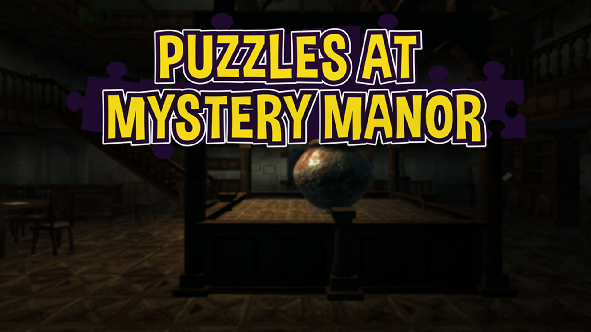 Puzzles At Mystery Manor [Online Game -