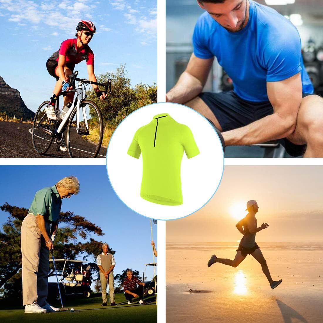 CATENA Womens Cycling Jersey Short Sleeve Shirt Running Top Moisture Wicking Workout Sports T-Shirt