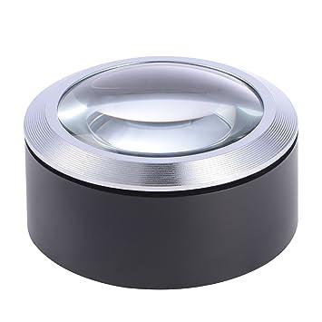 Amazon.com: Lupa de cúpula para escritorio, 5 unidades, lupa ...