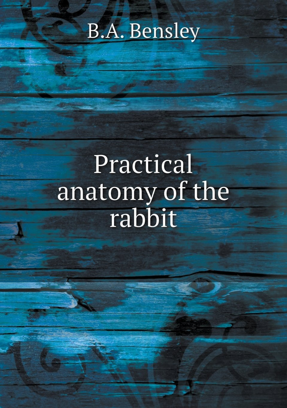Practical Anatomy Of The Rabbit Ba Bensley 9785519379915 Amazon