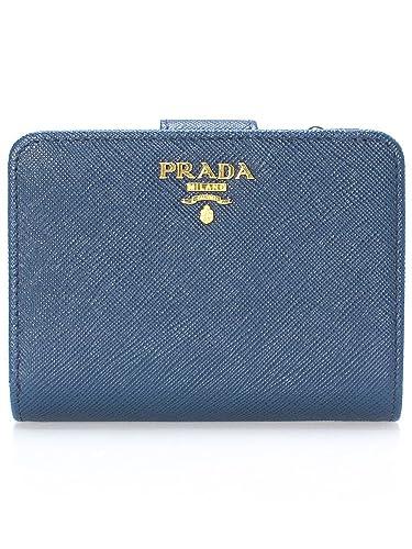 wholesale dealer 29b55 60a48 Amazon | PRADA(プラダ) 財布 二つ折り レディース サフィアーノ ...