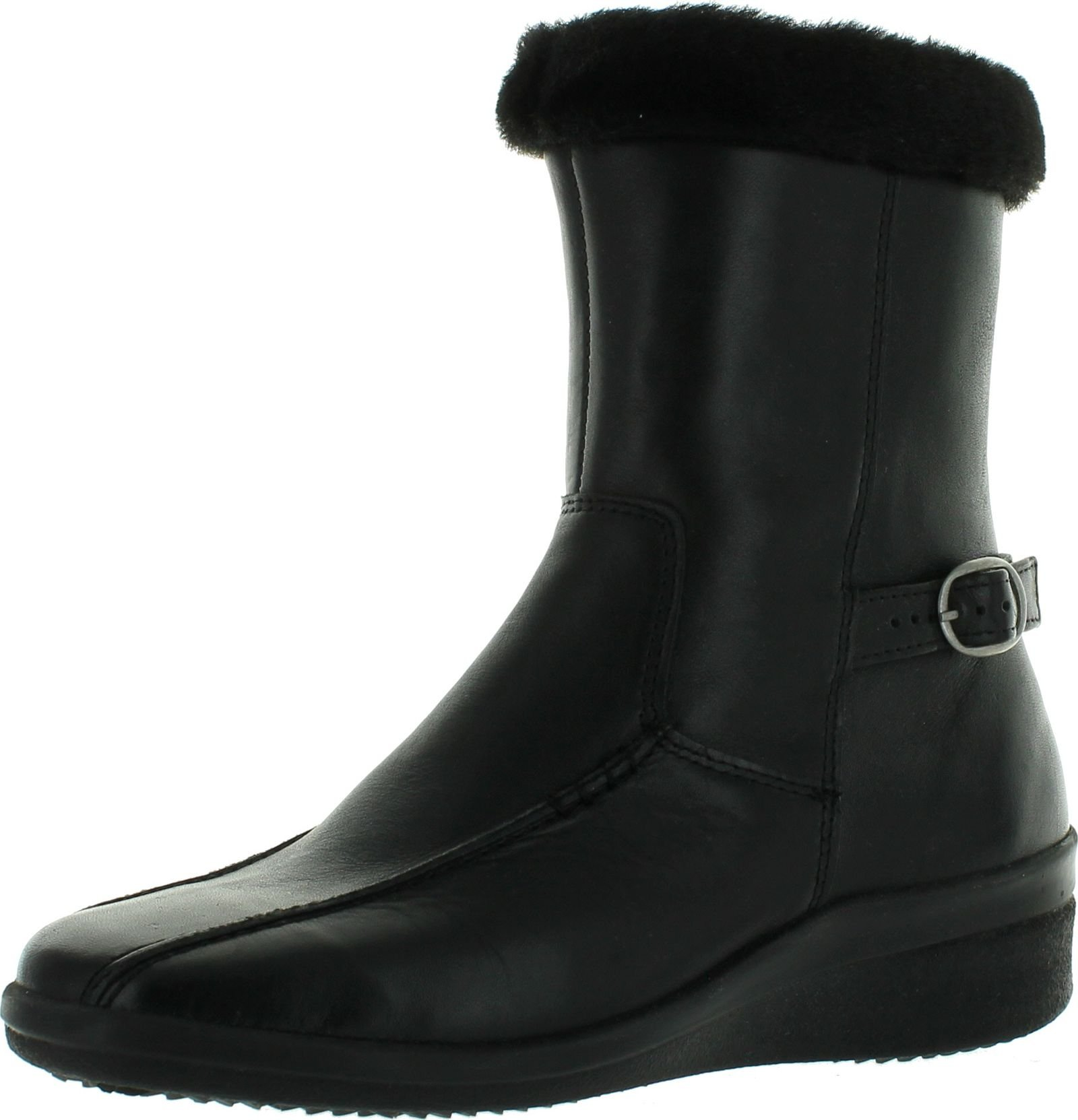 Spring Step Women's Vail Waterproof Leather Boot,Black,36 M EU / 5.5-6 B(M) US by Spring Step