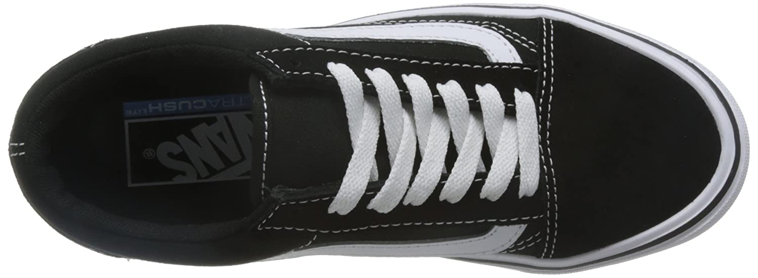 Vans Unisex Old Skool Lite (Suede/Canvas) D(M) Skate Shoe B01GTOBTBO 7 D(M) (Suede/Canvas) US|Black/White 3262af