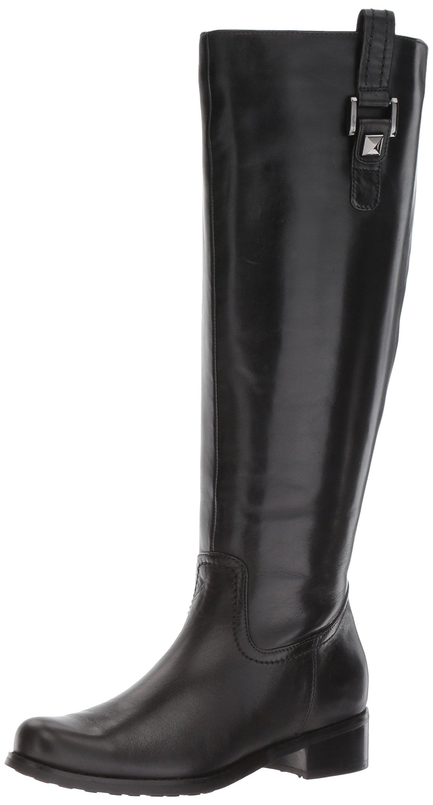 Blondo Women's Velvet WS Waterproof Riding Boot, Black, 8 M US