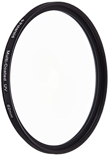 Polaroid Optics 62mm Multi-Coated UV Protective Filter