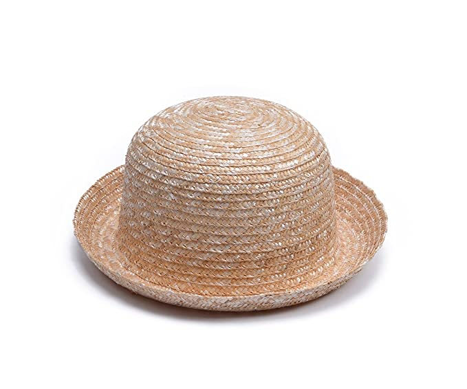 Lawliet Adult Child Straw Summer Hat Flat Top Wave Brim Panama T249 (Style  2 For 486ed28109f5