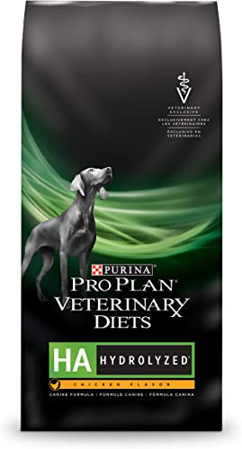 Purina Pro Plan Veterinary Diets HA Hydrolyzed Chicken Flavor Canine Formula Dry Dog Food – 25 lb. Bag
