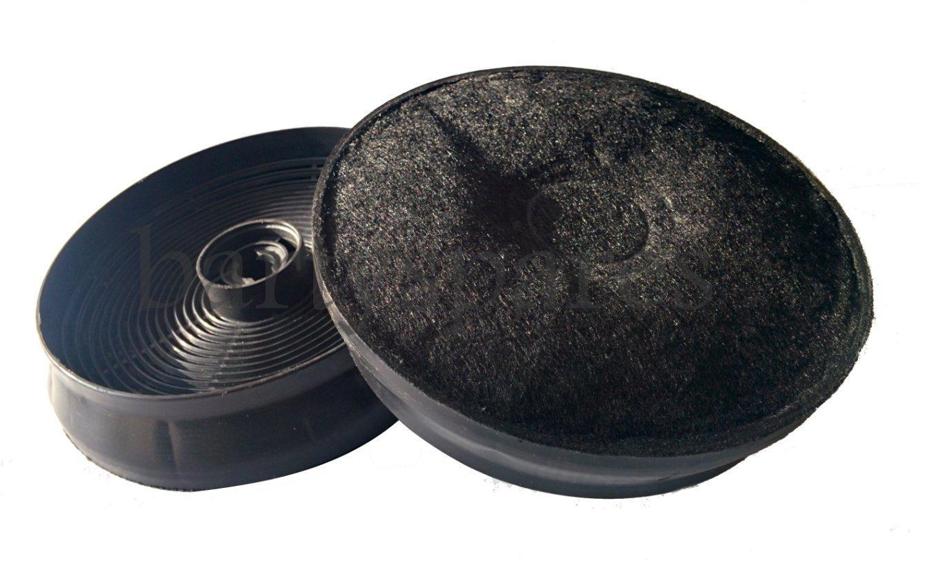 Los filtros de carbón de carbono para Belling CHIM 90 444441132 444441131 extractoras Campanas (Pack de 2) First4spares