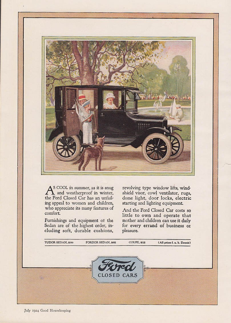 original cost of ford model t
